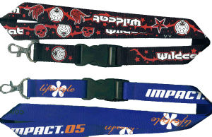 2017 Promotional Custom Silk Screen Printed Neck Lanyard pictures & photos
