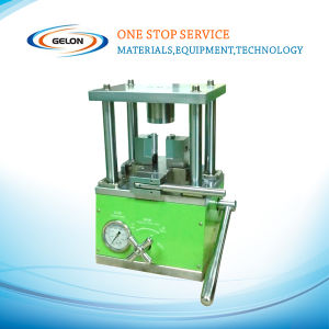 Hydraulic Crimping/Sealing Machine for Cylindrical Cases Optional: 32650, 26650, 18650, Cr123, etc (GN-510) pictures & photos