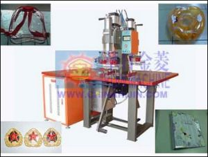Manual High Frequency Embossing Ornament Machine