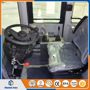 Chinese 1.5ton Log Grapple Wheel Loader with/Without Quick Hitch pictures & photos