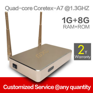 Quad Core Android Mini TV Box Support OEM/ODM Service