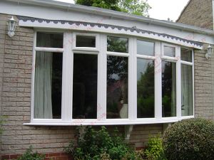 German Quality UPVC Balcony Window Systems (BHP-CWP06) pictures & photos
