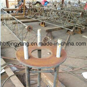 3leg Steel Lattice Guyed Antenna Tower pictures & photos
