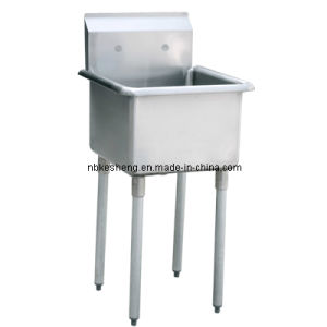 One Compartment Sink Without Drain Board