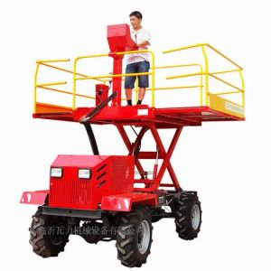 Agricultural Wheel Type Garden Work Platform