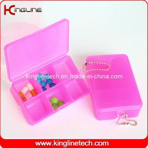 Plastic Square Pill Box (KL-9064) pictures & photos