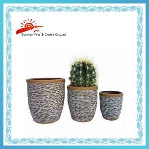 Ceramic Garden Flower Pot for Herbs (SMV3004)