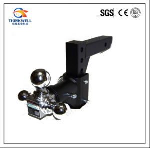 Adjustable Trailer Triple Ball Swivel Tow Hitch Ball Mount pictures & photos