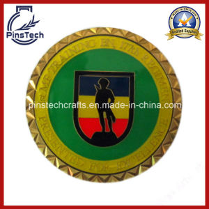 Epoxy Coated Coin with Triangle Edge pictures & photos