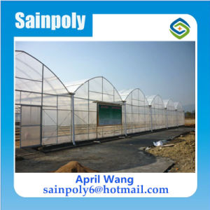 Low Cost Light Deprivation Film Agricultural Greenhouse for Cucumber pictures & photos