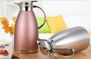 18-8 (304) Stainless Steel Double Wall Vacuum Kettle (TT-002) pictures & photos