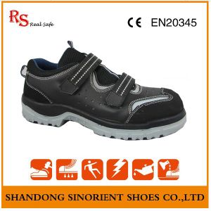 RS Real Safe Brand No Lace Safety Shoes, Suede Leather Summer Safety Shoes RS015 pictures & photos
