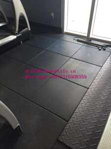 Recycle Rubber Tile, Playground Rubber Tiles, Colorful Rubber Paver pictures & photos