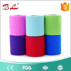 Self Adherent Cohesive Wrap Bandages pictures & photos