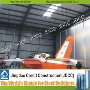 High Quality Galvanization Light Steel Structure Hangar for Aircraft Parking pictures & photos