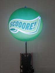 1m Night Light Backpack LED Balloon