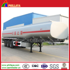 ISO Saso 3xles 50m3 Oil Tank Semi Trailer pictures & photos