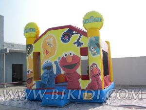 Inflatable Toy Castles Sesame (B2057) pictures & photos