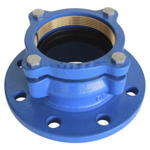 Ductile Iron Flange Joint Used for PE Pipe pictures & photos