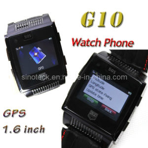 G10 Quad Band Single SIM Cards 1.6 Inch Resistive Touch Screen GPS Watch Phone