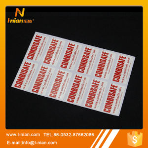 Custom Printed Outdoor Use UV Resistant Vinyl Self Adhesive Labels pictures & photos