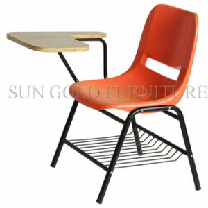 Student Combo Chair with Arm and Bookrack (SZ-SF06) pictures & photos
