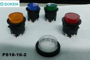 Waterproof Round Light Push Button Switch pictures & photos