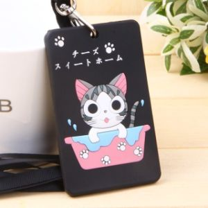 Promotion Various Shapes 2d Soft PVC Luggage Tag pictures & photos