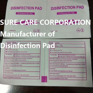 Disinfection 70% Isopropyl Alcohol Pad+2%Chg for Medical pictures & photos