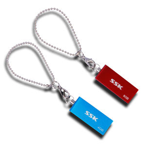 USB Flash Drive Swivel Mini USB Pendrive Ssk Flash Memory pictures & photos