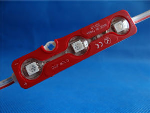 Ce&RoHS RGB IP68 DC12V 5050 LED Injection Module pictures & photos