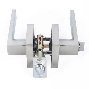 Hollow Lever Stainless Steel Door Lock Chrom Door Handle Lock pictures & photos