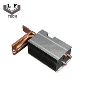 Aluminum Fin 3PCS Copper Pipe 75W Heat Sink