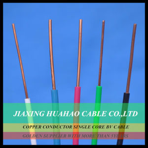 Electrical Wire PVC Insulation BV/Bvr Cable with SGS Approved pictures & photos
