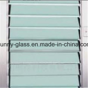 4mm 5mm 6mm Blue Green Louver Winodw Glass pictures & photos