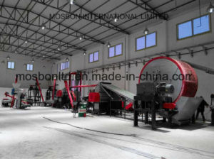 Eco-Friendly Waste Tyre/Tire Recycling Production Line with CE and ISO pictures & photos