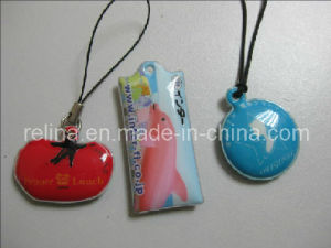 Soft PVC Mobile Chain with Printing Logo (PVC-19)