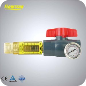 Polysulphone Flowmeter Horizontal Pipeline Flowmeter pictures & photos