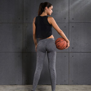 Nylon and Spandex Women Leggings Plain Gym Wear Yoga Pants pictures & photos