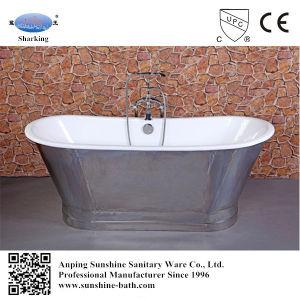 Hot Sales Freestanding Cast Iron Skirted Bathtub Sw-1002A
