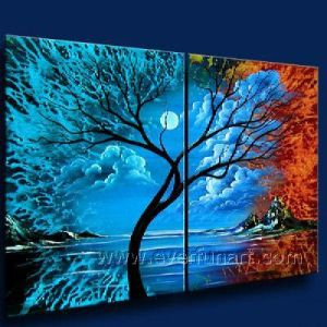 Modern Decoration Canvas Art Abstract Oil Painting (XD2-088) pictures & photos