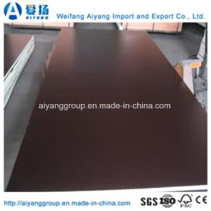 Custom Size Brown/Black/Red Film Faced Plywood for Construction pictures & photos