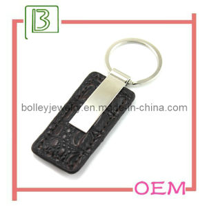 Rectangle Metal Key Chain