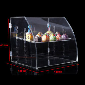 Customized High Quality 3 Layer Acrylic Bread Display Stand pictures & photos
