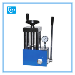 30t Tabletop Manual Powder Hydraulic Press Cy-PC-30 pictures & photos
