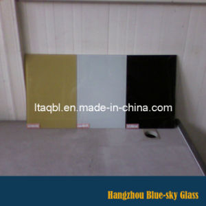 Silk Screen Print Roller Coating Painted Glass