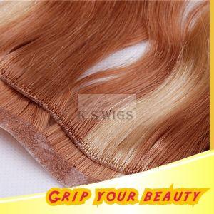 PU Skin Weft Natural Virgin Human Hair Extension pictures & photos