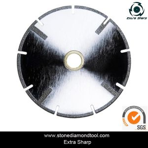 Electroplated Diamond Saw Blade for Cutting Glass Tile pictures & photos