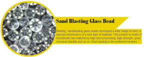 0.850-0.600mm Sandblasting Glass Beads, Glass Beads for Sand Blasting pictures & photos