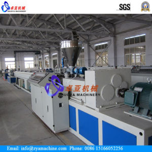 PVC CPVC UPVC Water Pipe Making Equipment Plastic Pipe Manufacturing Machine pictures & photos